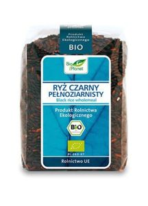 BLACK WHOLEMEAL RICE BIO 400g