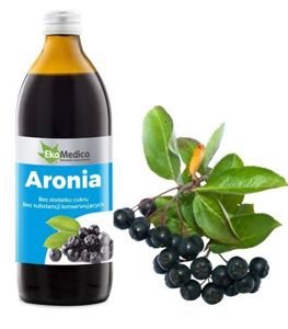 Chokeberry juice 500ml -to slow down the aging process of the body