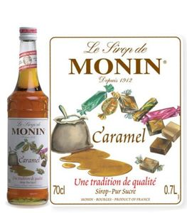Monin Syrup - Caramel Coffee Syrup 700 ml