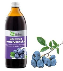 The juice of American Blueberry 500 ml