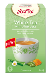 White tea with aloe BIO (17 x 1.8 g), 30.6 g - YOGI TEA