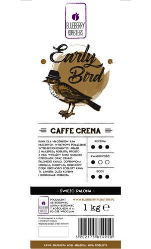 EARLY BIRD CAFFE CREMA 1kg