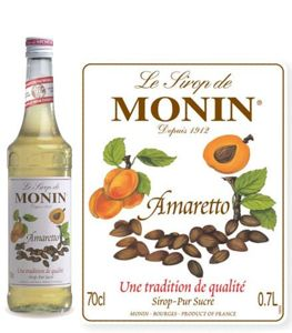 Syrop do kawy Monin o smaku Amaretto 700 ml