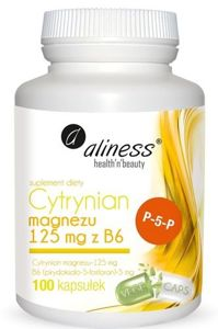 Magnesium Citrate 125 mg with B6 (P-5-P)