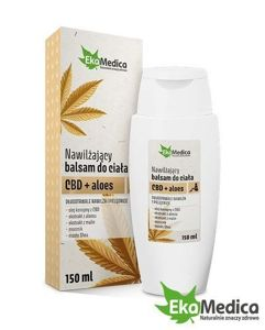 Moisturizing body lotion CBD + aloe vera 150 ml