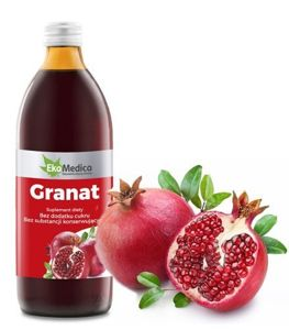 POMEGRANATE 100% pomegranate juice 500ml