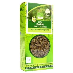 TEA LEAVES plantain BIO 50 g - Nature gifts