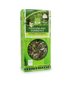 TEA RECOMMENDED for DIABETES BIO 50g from GIFTS OF NATURE