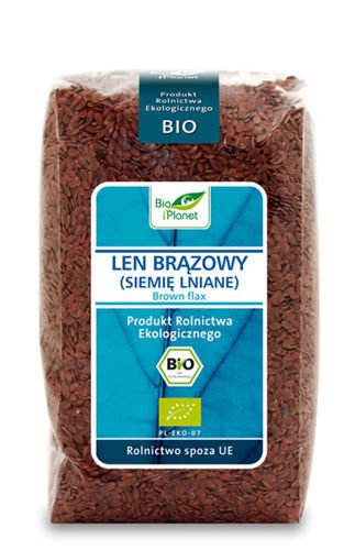 BROWN FLAX SEEDS BIO 400g from BIO PLANET