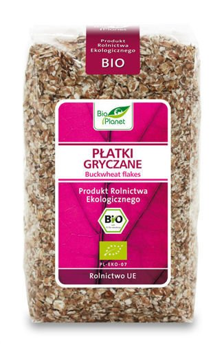 BUCKWHEAT FLAKES BIO 300g from BIO PLANET