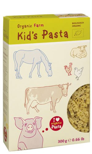 "KID'S PASTA ""FARM"" BIO 300g from ALB-GOLD"