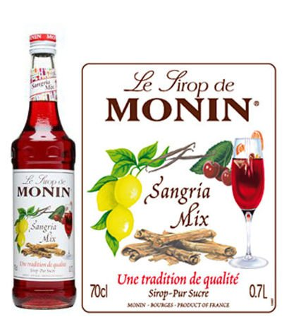 Monin Sangria Mix Syrup 700 ml