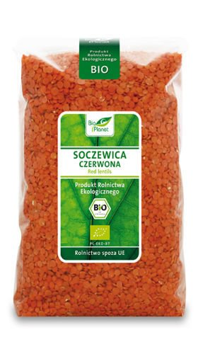 RED LENTILS BIO1kg from BIO PLANET