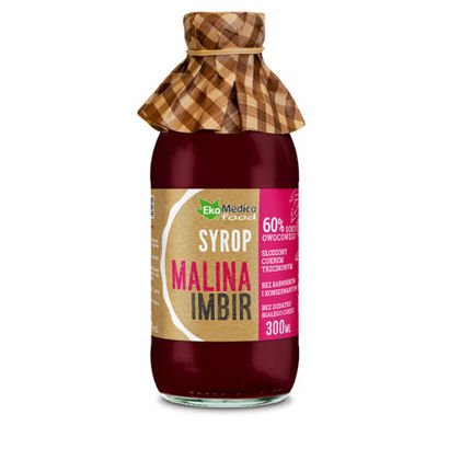 Raspberry and Pine Syrup - 300ml